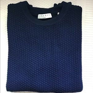 Sandro cashmere crew neck sweater.